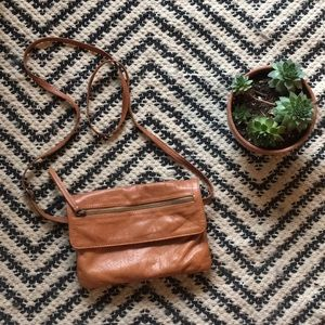 Anthro Day and Mood genuine leather crossbody